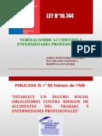 Normas Sobre Accidentes y Enfermedades Profesionales