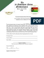 UNN Tribal Ledger PDF