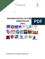 Documento Rector Del Pnfa_dic2011 Actualizado 2013