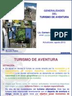 Generalidades Del Turismo de Aventura