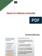 Presentacion Sistema Curricular General