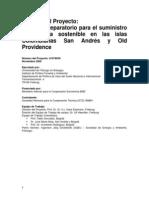 Energia San Andres Informe GTZ Generacion San Andres - Primera Parte Traduccion EEDAS