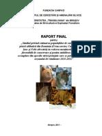 Carnivore Mari Evaluare 2011