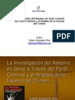 Investigacion Del Asesino en Serie Presentacion Edwin Granados Rios1