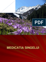 MEDICATIA SINGELUI farmacologie