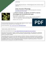 Variability of C N P in Marine Microalgae and Its Biochemical Basis