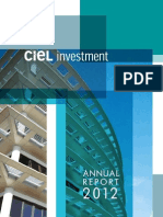 CIEL Investment 2012