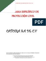memoria protección civil