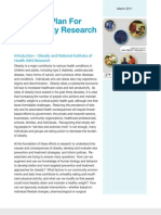 StrategicPlanforNIH Obesity Research Summary 2011
