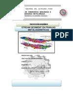 EL USO DE LA GEOQUÍMICA REGIONAL PARA CARACTERIZAR