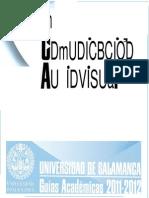 Grado Comunicacion Audiovisual 2011-2012