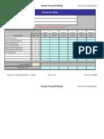 Vendor Proposal Ratings Form