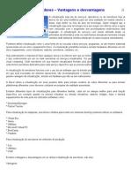 Virtualização de servidores – Vantagens e desvantagens
