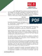 24-09-2012-Moción Rechazo Fusión Obligatoria de Municipios