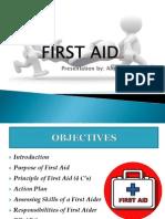 1st aid.pptx