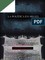 Hegel Politicon Ppt