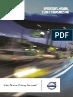 VolvoOperatorsManualI Shift PV77620906026