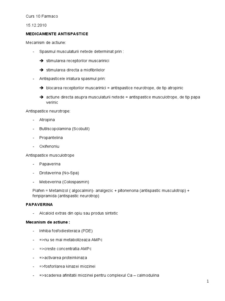 Efecte secundare mebeverine scădere în greutate)