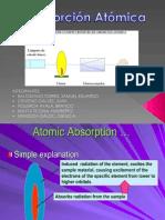 Absorcion atomica Exposicion