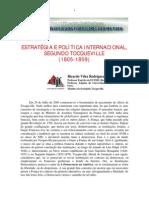 Tocqueville, Estratégia e politica internacional