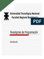 Ppt Paradigmas 1 - Intro