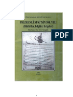 Prizrenli Suzi'nin 500. Yılı