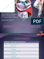 PRESENTACION DANZAS FOLCLÓRICAS