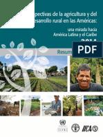 Perspectivas de la agricultura e del desarrollo rural en las Américas