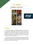 FE Y SABER El Problema de La Religion en Debate Con Vattimo Por Jaques Derrida