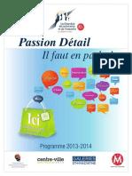 CC Passion Detail Depliant Vs8 Sept 13