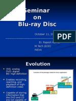 Blu Ray Disc Seminar