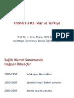 Kronik Hastalıklar ve Türkiye