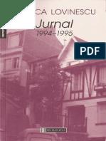 Monica Lovinescu Jurnal 1994-1995 ( volumul 4)