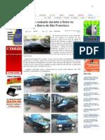 SiteBarra » Veiculo é roubado durante a festa no centro de Barra de São Francisco