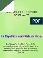 LA REPÚBLICA Y EL FILÓSOFO GOBERNANTE