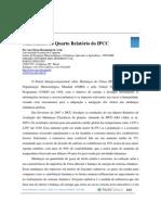 Relatorio Ipcc