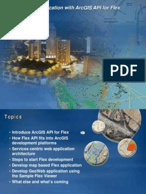 Building Web Application With ArcGIS API for Flex | Apache