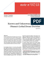 Lethal'Drone Obama Doctrine