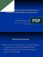 Simona Mihaela Cinca-Nefrita Interstitiala Acuta Granulomatoasa Si IRA Secundare Tratamentului Cu Omeprazol (1)