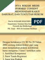 Pentingnya Rekam Medis Dan Informed Consent