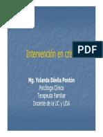 Intervencion en Crisis Presentacion