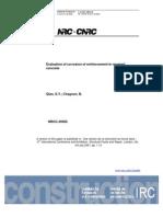 Evaluation of Corrosion in Concrete