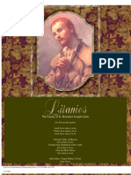 Benedict Joseph Labre Litany