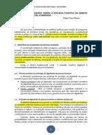 RESUMO - Breves consideração sobre a eficácia positiva do direito fundamental social à moradia - FELIPE PIRES PEREIRA