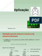 Multiplicao1 e Propriedades