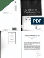 Lacan, Jacques -- Seminar VII (Ethics of Psychoanalysis)