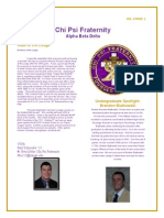 Chi Psi Alumni Newsletter October 2013