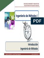 M1.1 IM I - USMP - Ingeniería de Métodos - Introducción