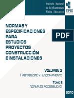 Volumen 3 Tomo II Norma Accesibilidad 2010