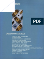 1988 Analog Devices Linear Products Databook